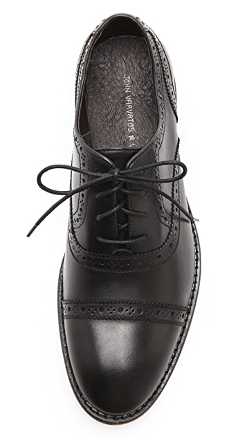 John Varvatos Star USA Dearborn Lace Up Brogues