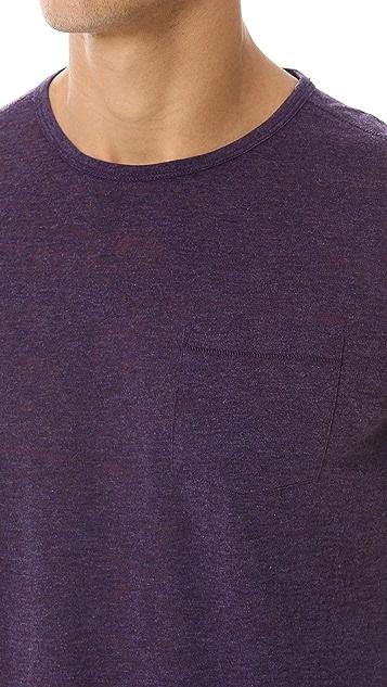 John Varvatos Star USA Short Sleeve Crew Neck Tee