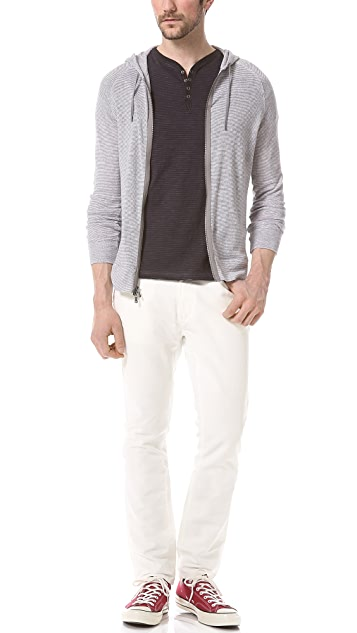 John Varvatos Star USA Bowery Zip Jeans