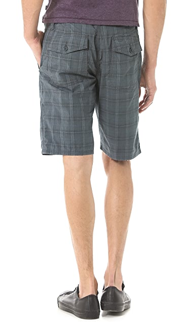 John Varvatos Star USA Triple Needle Shorts