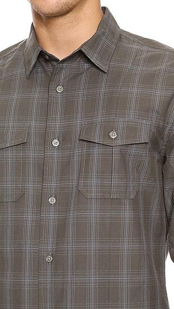 John Varvatos Star USA Camp Shirt