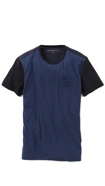 John Varvatos Star USA Baseball T-Shirt