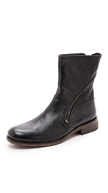 John Varvatos Star USA Rocker Twisted Zip Boots