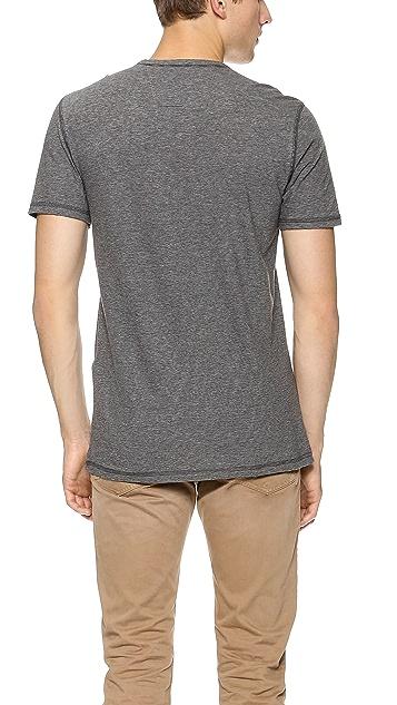 John Varvatos Star USA Short Sleeve Henley