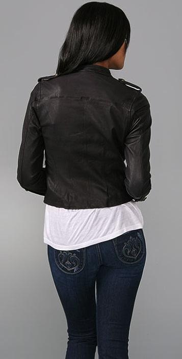 Joie Dagney Leather Jacket