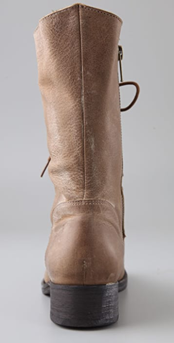 Joie Jovi Lace Up Flat Boots