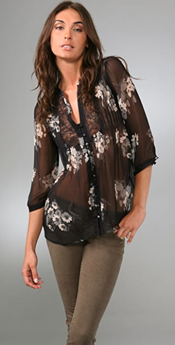 Joie Leanne Floral Top