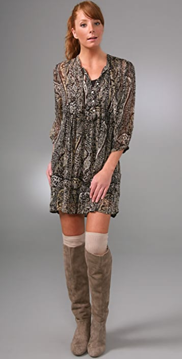 Joie Campbell Paisley Dress