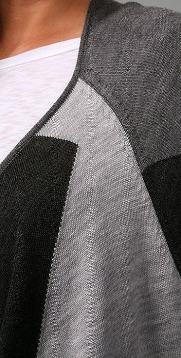 Joie Irisa Abstract Argyle Sweater