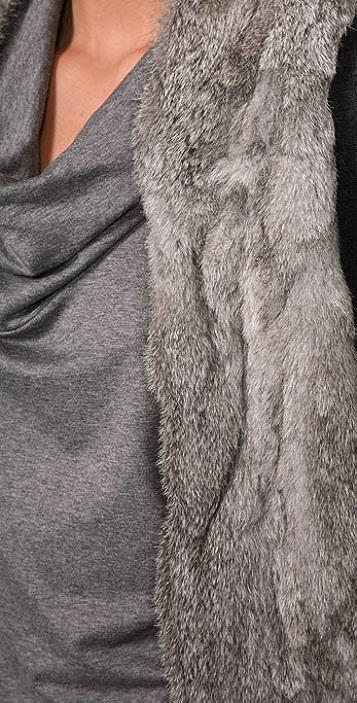 Joie Luxor Rabbit Knit Shrug