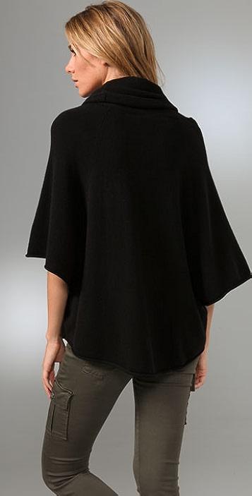 Joie Celia Poncho Sweater