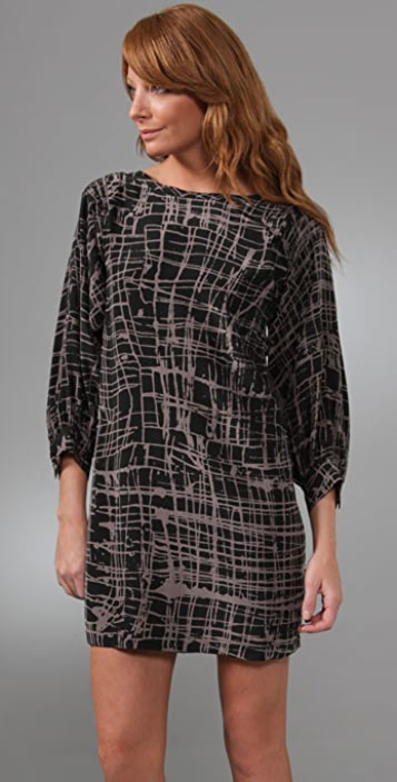 Joie Takala Splatter Paint Dress