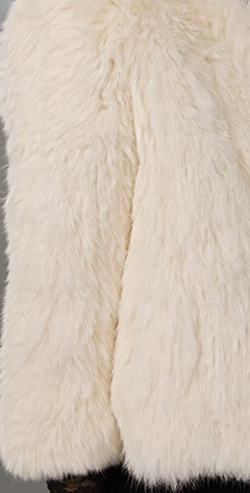 Joie Spence Rabbit Fur Jacket