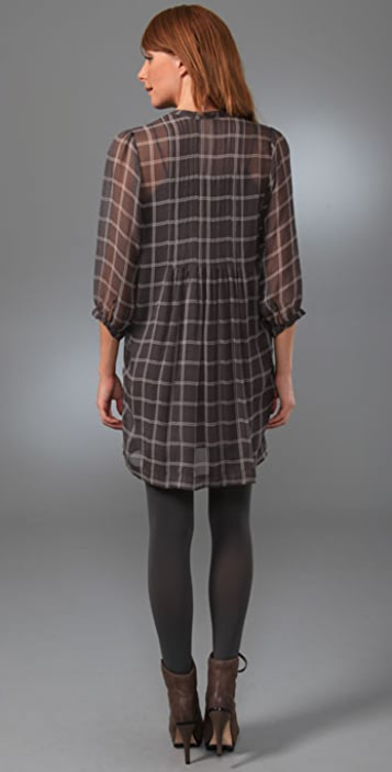 Joie Campbell Plaid Dress