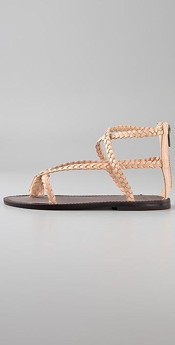 Joie McCartney Braided Thong Sandals
