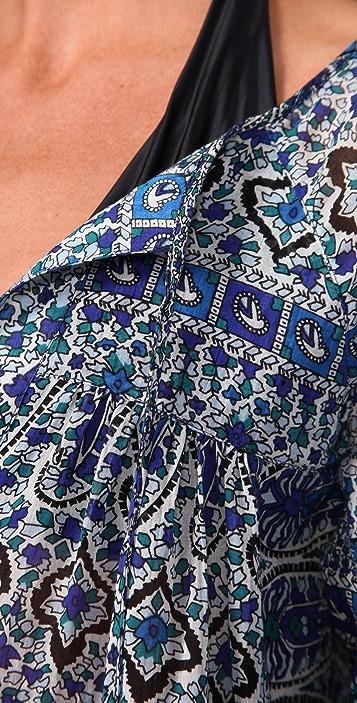 Joie Joie A La Plage Paisley Parsons Cover Up Tunic