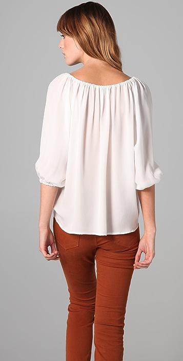 Joie Newbury Silk Blouse