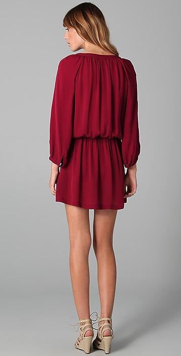Joie Molly Matte Silk Dress