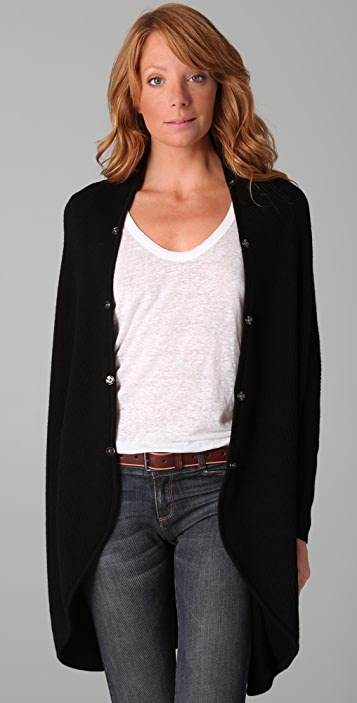 Joie Trevista Sweater with Fur Trim