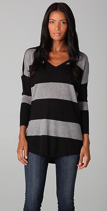 Joie Cheyenne Striped Sweater