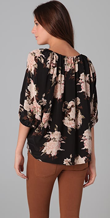 Joie Newbury Romantic Floral Blouse