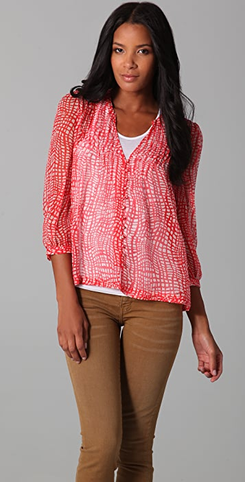 Joie Calico Blouse