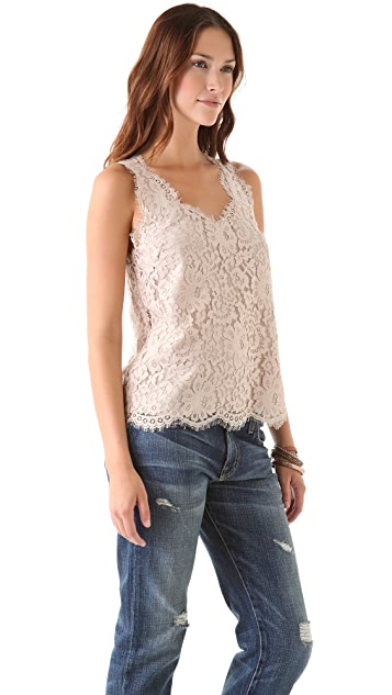 Joie Cina Lace Top