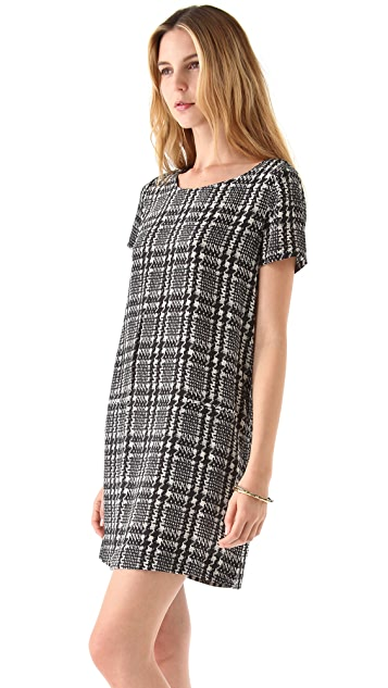 Joie Madaline Houndstooth Dress
