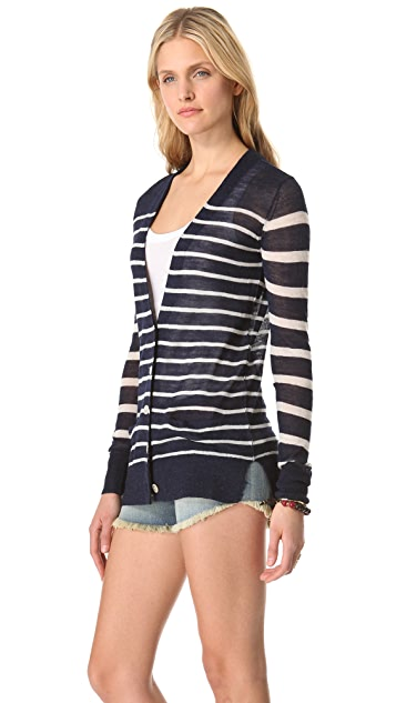 Joie Adelia Striped Cardigan