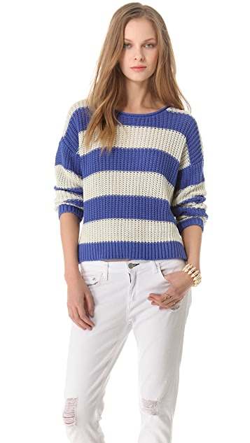 Joie Jalene Rugby Stripe Sweater