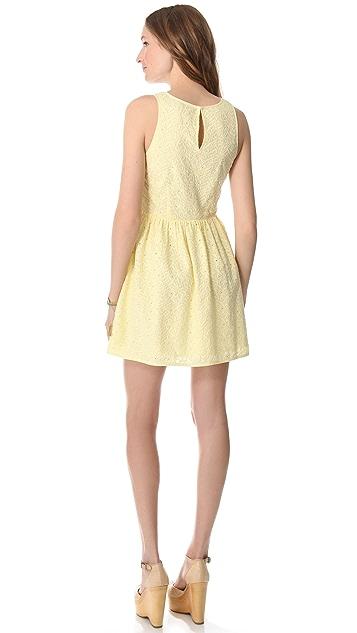 Joie Soleil Eyelet Dress