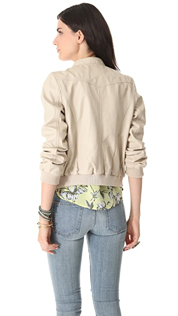 Joie Danica B. Leather Jacket