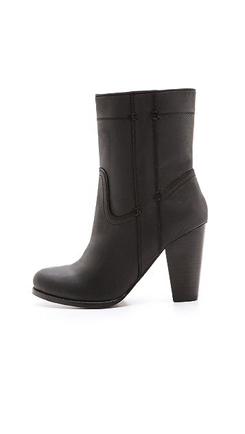 Joie Caden Chunky Heel Booties