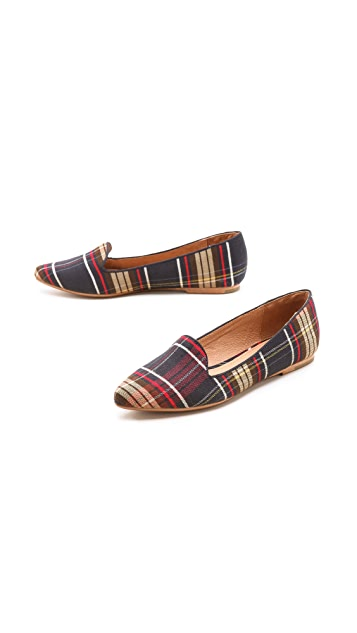 Joie Day Dreaming Plaid Loafers