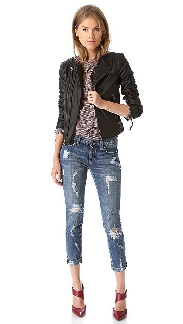 Joie Kaylie Leather Jacket
