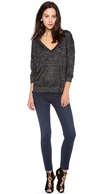 Joie Calee Metallic Sweater