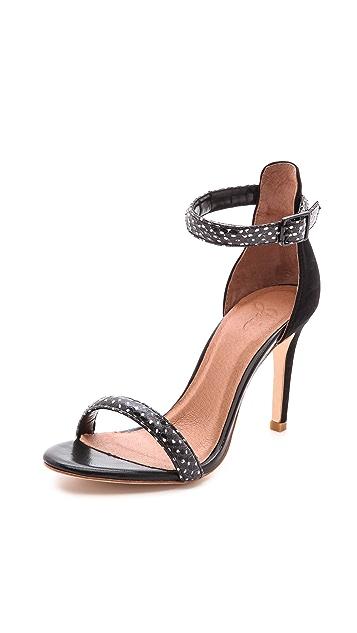 Joie Roxie Snakeskin Sandals