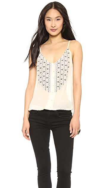Joie Kaline Embroidered Top