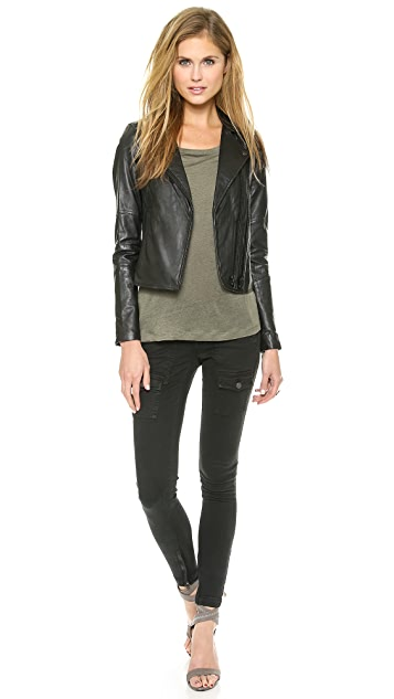 Joie Davey Leather Jacket