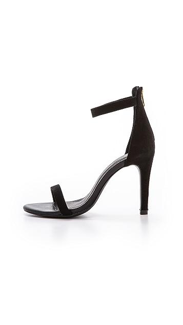 c32ba811383 Abbot Ankle Strap Suede Sandals