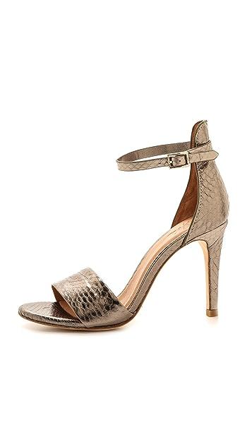 Joie Jaclyn Snakeskin Sandals