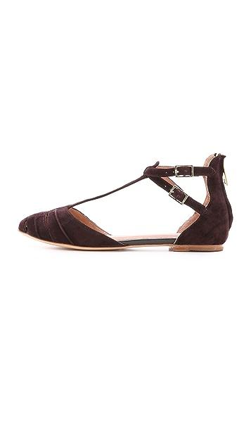 Joie Замшевая обувь на плоской подошве Agnes