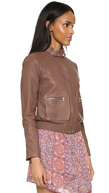 Joie Nakotah Leather Jacket