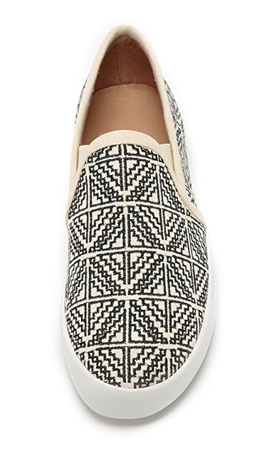 Joie Huxley Embroidered Slip On Sneakers