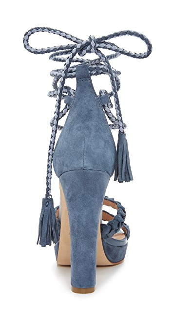 Joie Flo Ankle Wrap Sandals
