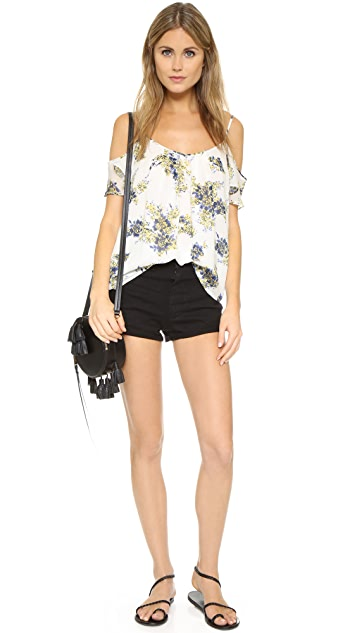 Joie Adorlee B Cold Shoulder Top