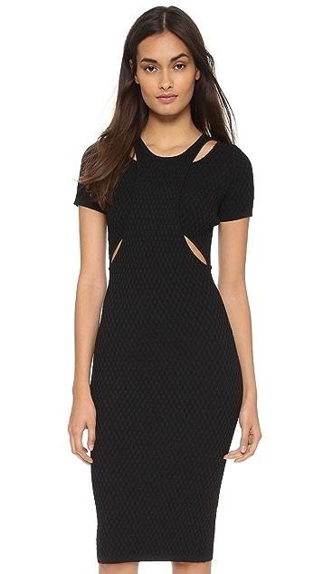 Jonathan Simkhai Hex Cutout Dress