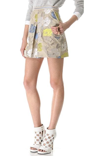 Jonathan Simkhai Floral Skirt