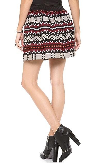 Jonathan Simkhai Pixel Puff Skirt