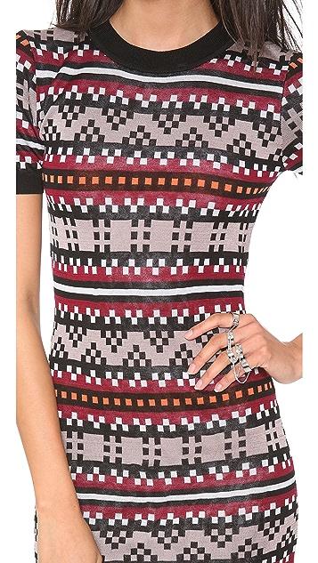 Jonathan Simkhai Pixel Sweater Dress